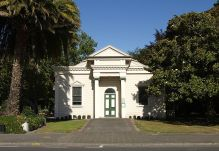 """Greytown New Zealand Library Building"" by Ulrich Lange, Dunedin, New Zealand (Own work) is licensed under CC BY-SA 3.0"