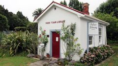 """Puhoi Town Library"" by Craig D is licensed under CC BY-SA 2.0"